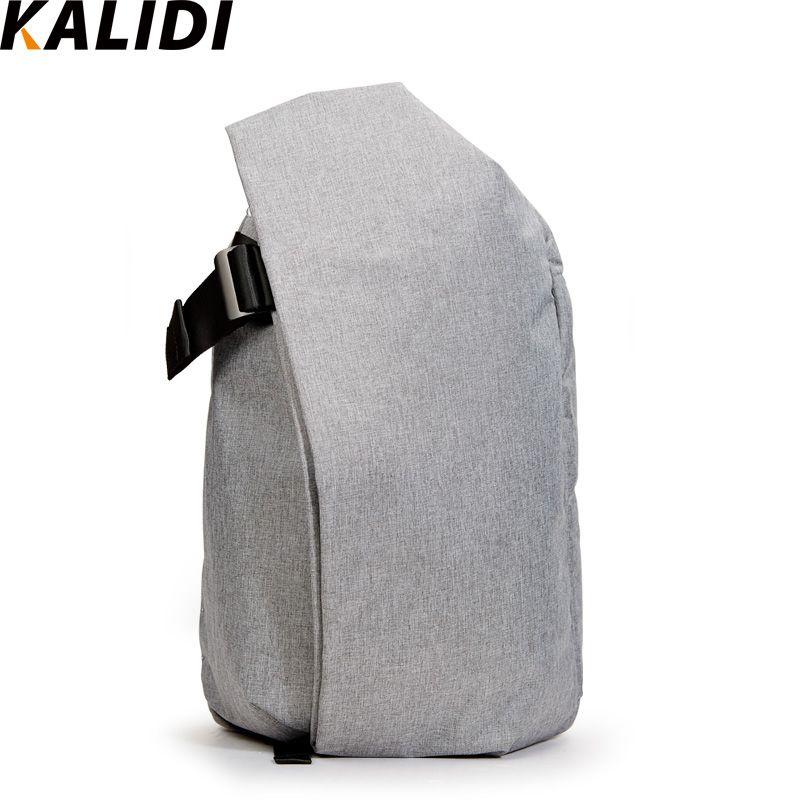 Kalidi Водонепроницаемый 15 дюймов сумка рюкзак для ноутбука Планшеты ноутбук для MacBook Pro 15.6-17.3 дюймов HP Dell Тетрадь сумка школьная сумка