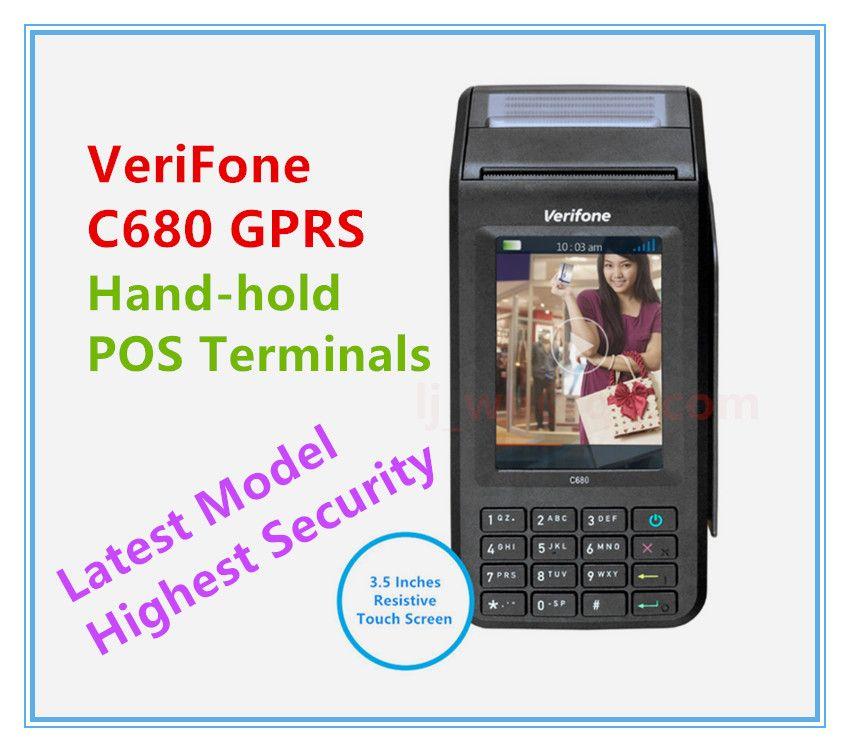 Terminaux de point de vente à main Verifone C680 GPRS remis à neuf dernier modèle