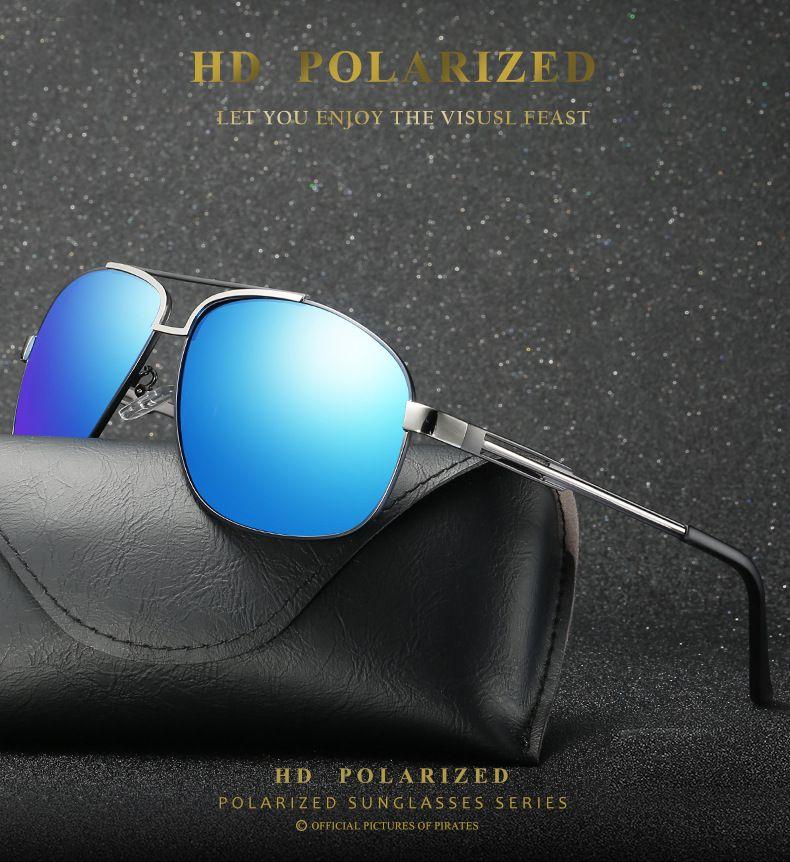 Hommes nouvelles lunettes de soleil polarisées 2019 hommes conduite lunettes de soleil