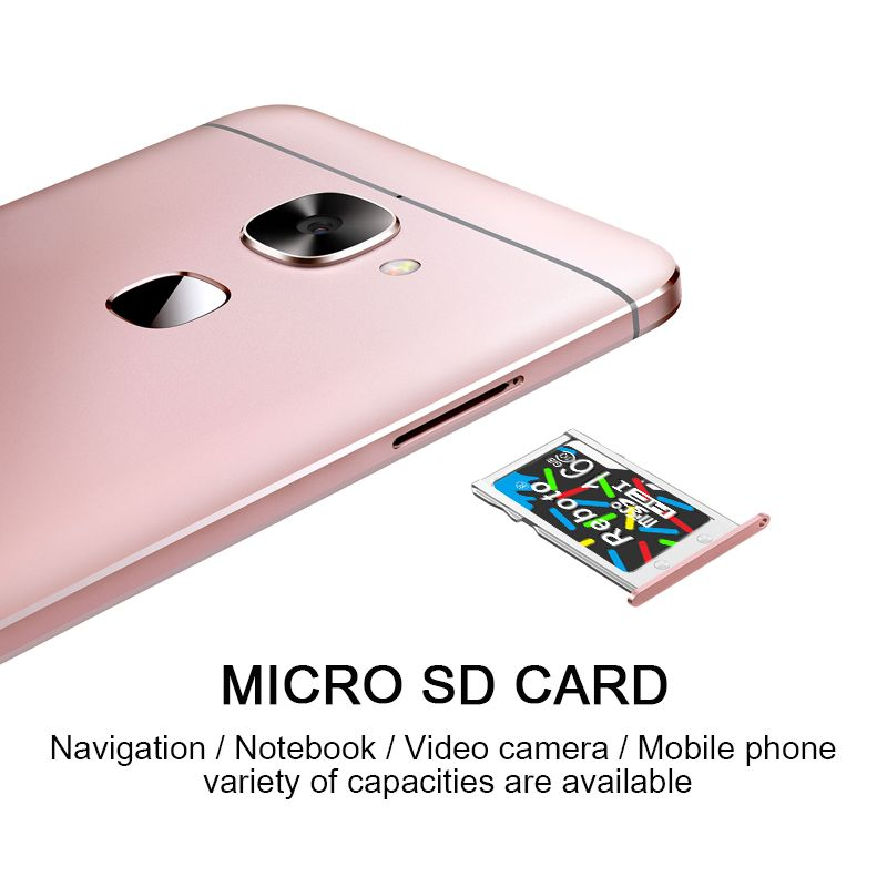 Reboto Newest Colorful Class 10 Micro SD Card 64GB 32GB 16GB TF Card 8GB Memory Card 4GB C6 Mini Flash Card for Smart Phone