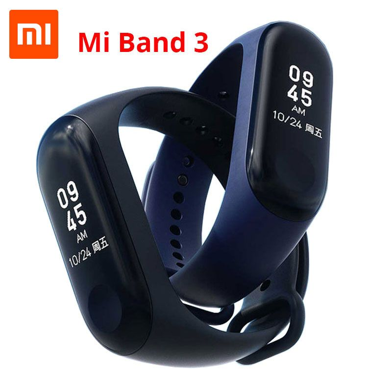Xiaomi Mi Band 2 Miband 3 Smart Bracelet 0.78 inch OLED Touch Screen Message Weather Display Fitness Tracker Xiaomi Band 3 2018