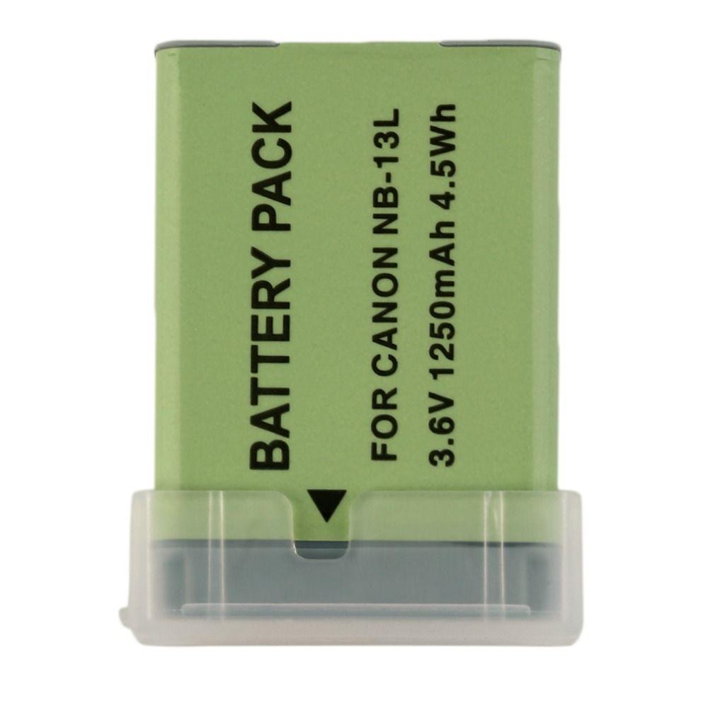Batería recargable Nueva Cámara de Vídeo Para CANON Powershot NB-13L G7X 3.6 V 1250 mah Cámara Videocámaras Accesorios de Reemplazo