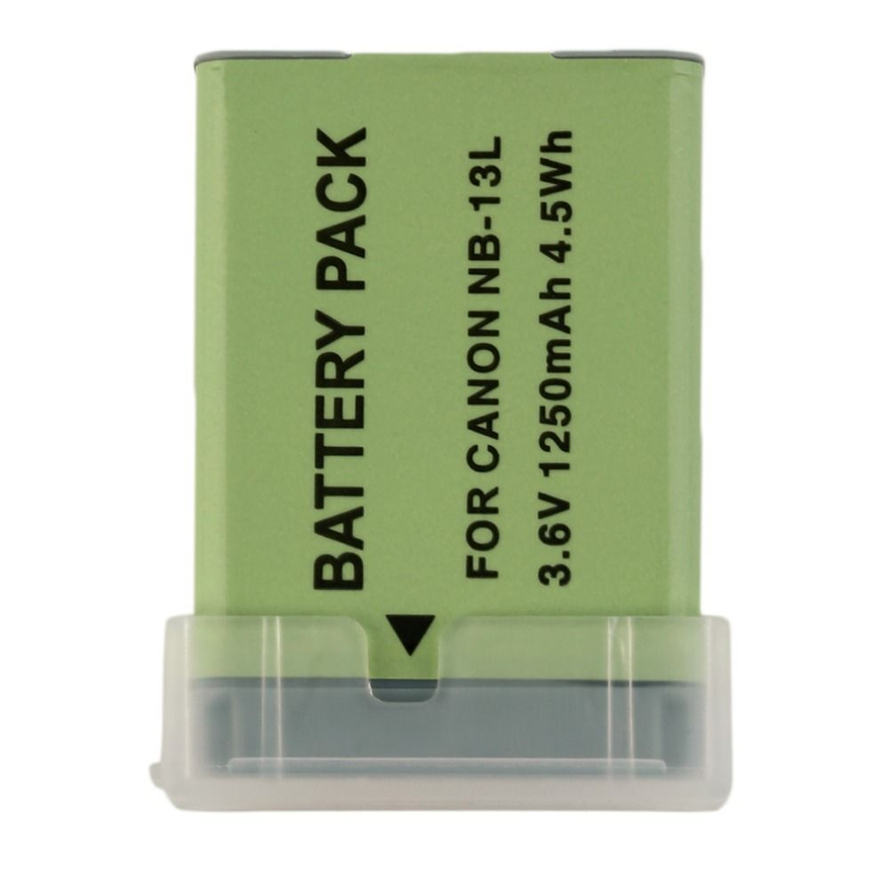 Rechargeable New Camera Camcorders Battery For CANON NB-13L Powershot G7X 3.6V 1250mah Camera Camcorders Replacement Accessories