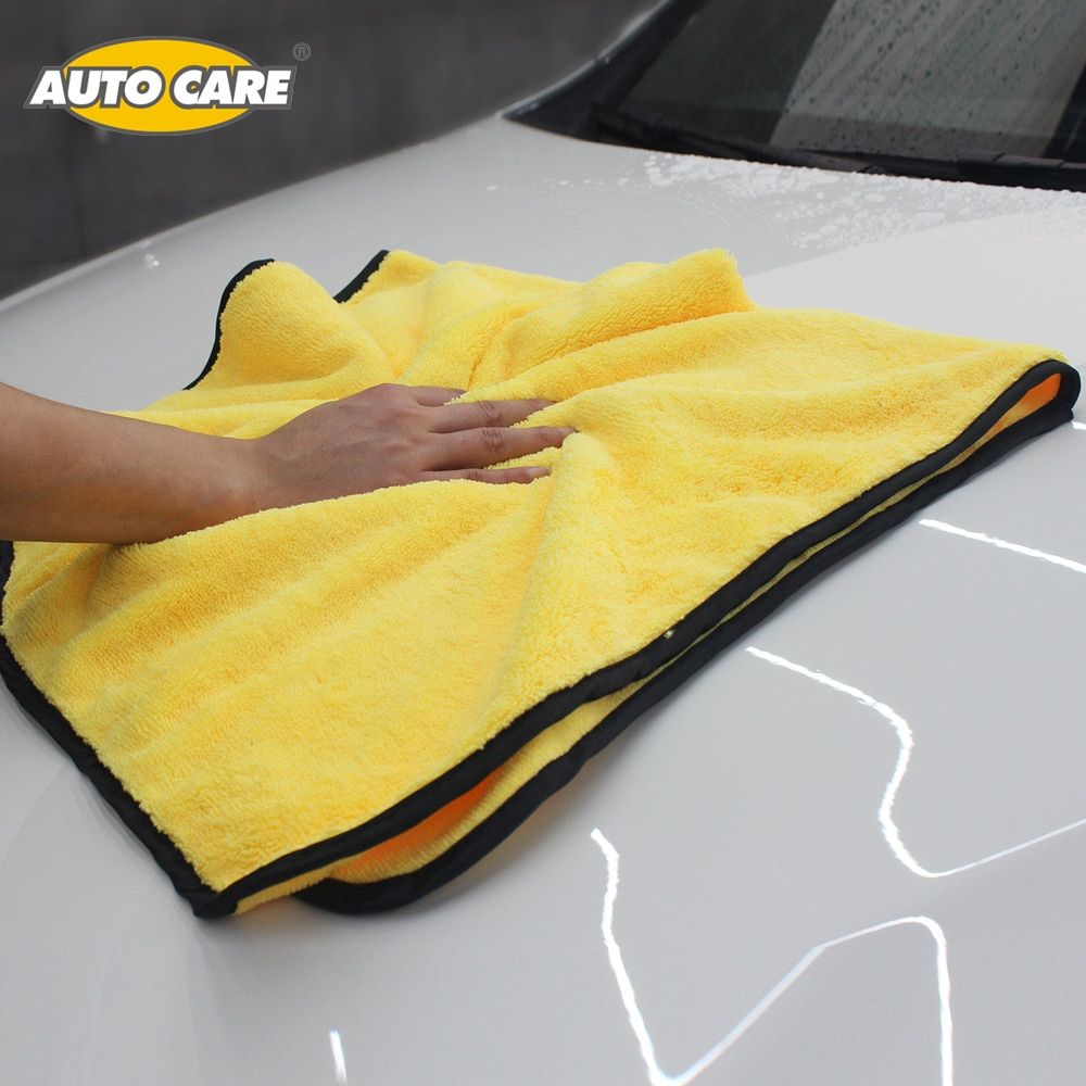 Super Absorbent Car Wash Microfiber Towel Car Cleaning Drying Cloth Large Size 92*56cm Hemming Car Care Cloth Detailing Towel