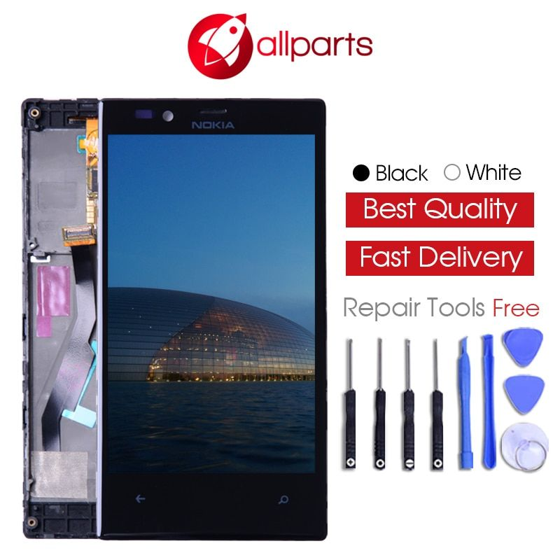 ORIGINAL For NOKIA Lumia 720 LCD Touch Screen For NOKIA Lumia 720 Display Digitizer Assembly Replacement Parts N720
