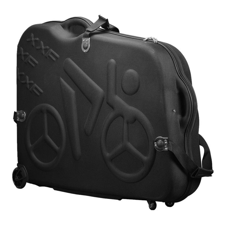 Bike Travel Case Accesorios Bicicleta Eva Material Rainproof Bikes Hard Box bike bag For 26''/27.5