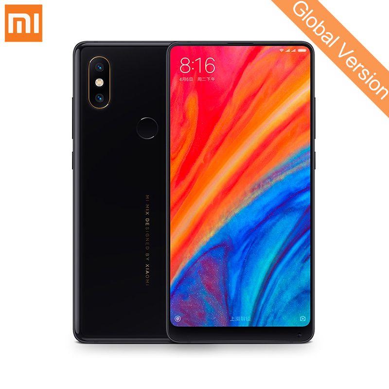 Global Version Xiaomi Mi Mix 2S 6GB 128GB Snapdragon 845 Face ID NFC 5.99