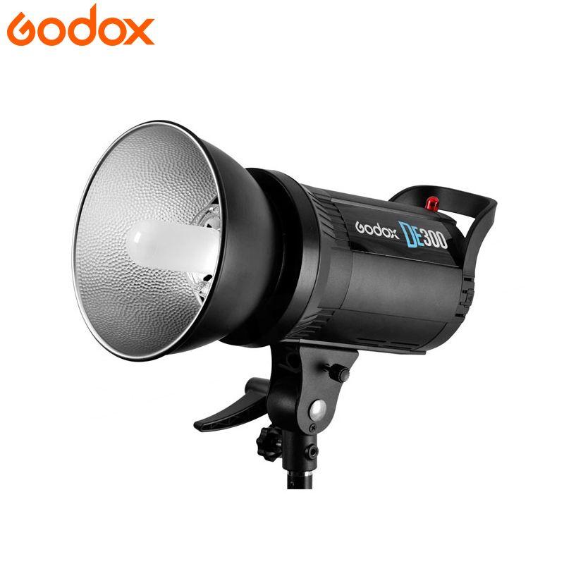 Godox DE300 110 V/220 V 300 Watt Kompaktes Studio Fotografie Blitzlicht Foto-studio-blitz Blitzlichtlampenkopf Einstellbare Bowens reflektor Gericht