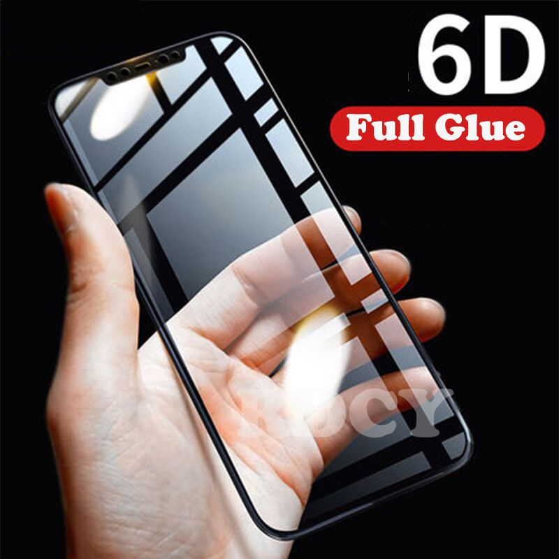 RDCY 6D Full Cover Screen Tempered Glass Film For Xiaomi Mi 8 SE Phone POCOPHONE F1 For Xiaomi A2 Lite Redmi note 6Pro MIX3