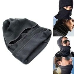 Unisex Thermal Fleece Balaclava Neck Winter Ski Full Face Mask Cover Cap For Motorcycle Face Mask Windproof Hat 7IEZ