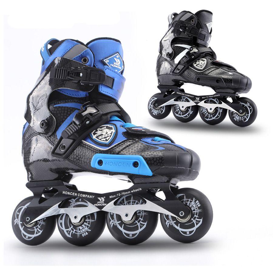 2019 AUFSTIEG Carbon Faser Berufs Slalom Inline Skates Erwachsene Roller Kostenloser Skating Schuhe Schiebe Patines Ähnliche Mit SEBA IGOR