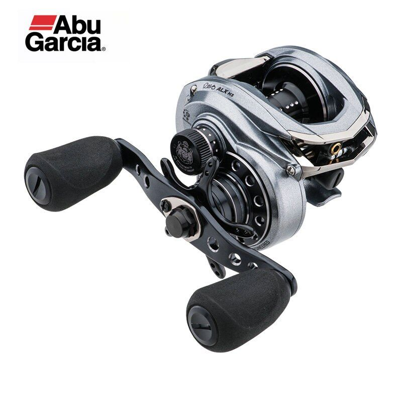 Original Abu Garcia Revo ALX 8.0:1 Baitcasting Fishing Reel 9BB 155g Max Drag 7.3kg Carbon Matrix drag system alloy frame