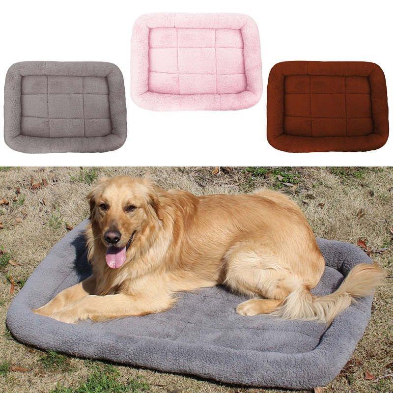 S/M/L Pet chien lit canapé tapis maison chat Pet lit maison pour petits grands chiens grande couverture coussin panier fournitures chien produits