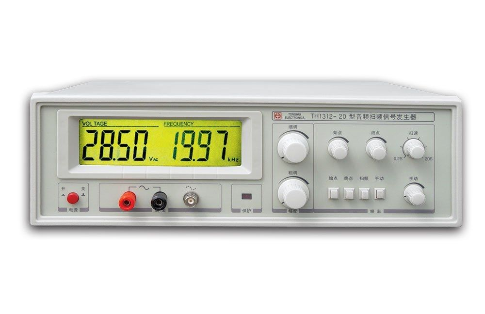 Schnelle ankunft TH1312-20 Audio Sweep Signal Generator 20-20 kHz Power-20W
