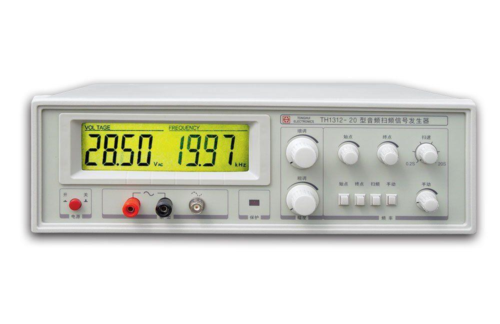 Schnelle ankunft TH1312-20 Audio Sweep Signal Generator 20-20 kHz Power-20W