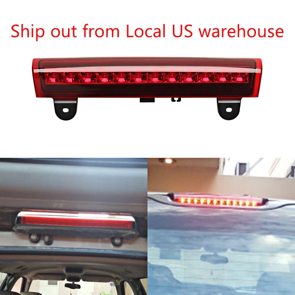 Housing REAR ROOF 12 LED 3RD Third Brake Light FOR 00-06 GMC/92-04 Chevy S10/Suburban/Tahoe/Yukon Red/Gray/White