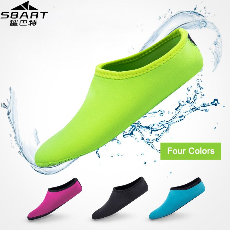 SBART Water Sports 2MM Neoprene Diving Socks Anti Skid Beach Socks Swimming Surfing Shoes for Adult Diving Boots Wetsuit Shoes I