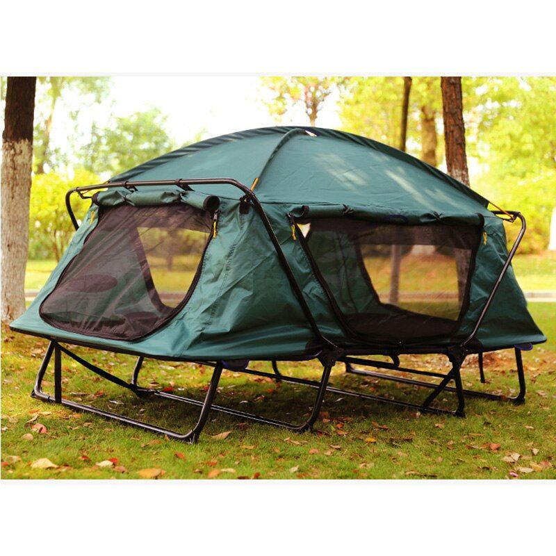 Automatic Tent 1-2 person Tent Folding Bed Outdoor Waterproof Fishing Hiking Awning Travel Tent Camping Tent