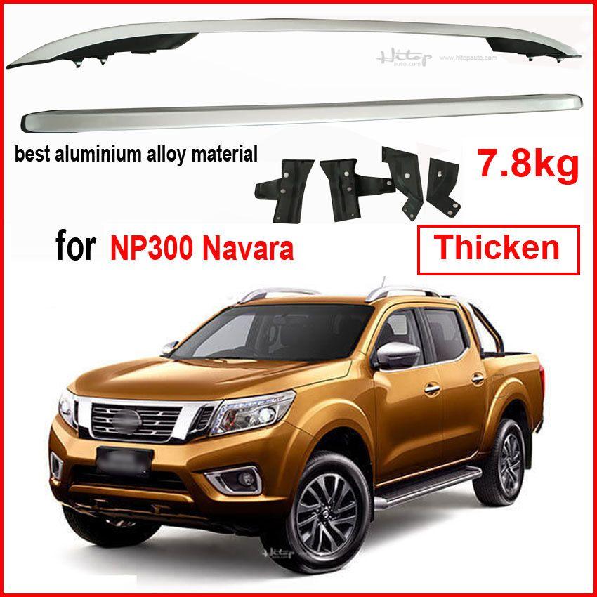 Kreuz dach bar gepäckträger querträger für Nissan NP300 Navara, verdicken aluminiumlegierung, geliefert von ISO9001 fabrik, 7,8 kg/satz