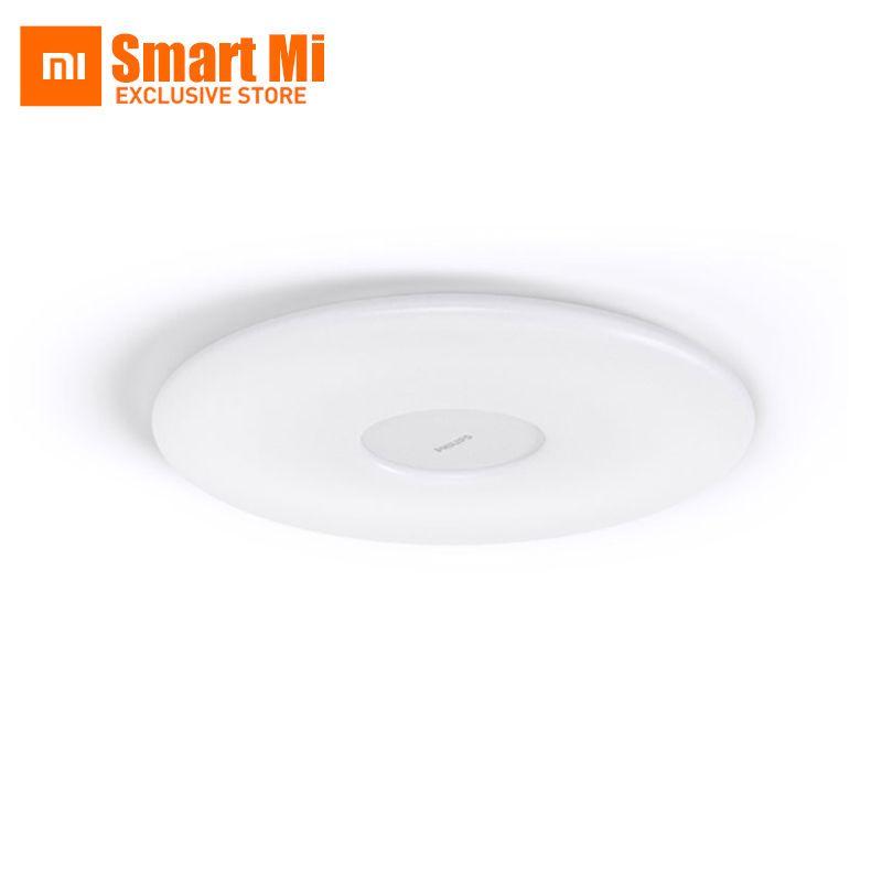 D'origine xiaomi mijia plafond lampe couleur et luminosité wifi télécommande température et humidité capteur ultra mince conception