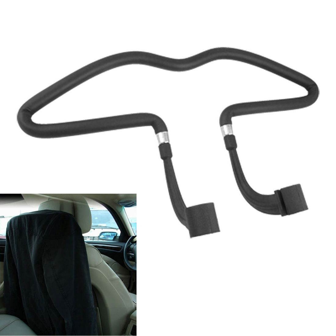 TOYL Auto Car Seat Hanger Holder Hooks Clips For Bag Purse Cloth Grocery Automobile Interior Accessories xmas