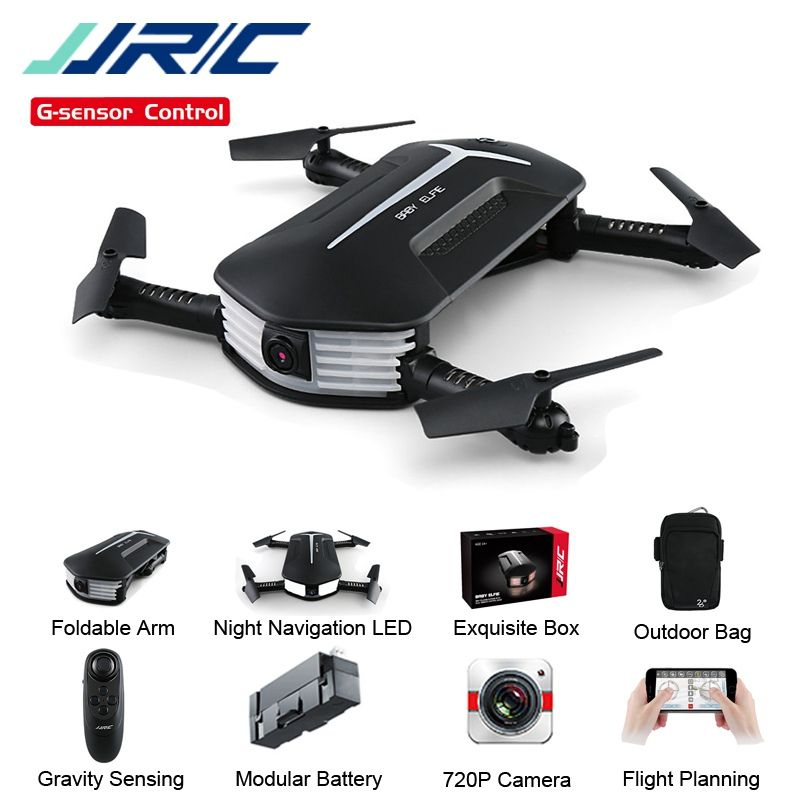 In Stock JJRC H37 Mini Baby Elfie 720P Foldable Arm WIFI FPV Altitude Hold RC Quadcopter Selfie Drone RTF VS H47 Eachine E52 E57