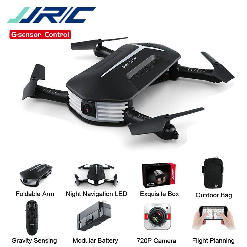 In Stock JJRC H37 Mini Baby Elfie 720P Foldable Arm WIFI FPV Altitude Hold RC Quadcopter Selfie Drone RTF VS H47 Eachine E52 E57