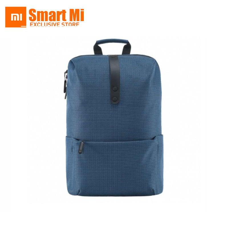100% Original Xiaomi Fashion School Backpack 600D Polyester Durable Waterproof Suit For 15.6 Inch Laptop Computer