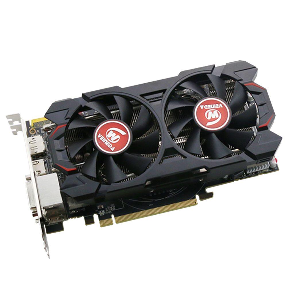 Grafikkarte 100% ursprüngliche R9 370 4 GB 256Bit GDDR5 grafikkarte für ATI Radeon Spiele