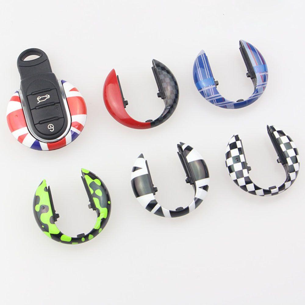 Union Jack Auto Smart Key Case Cover Shell Protector For Mini Cooper JCW F57 F56 F55 F54 F60 Countryman Car Styling Accessories