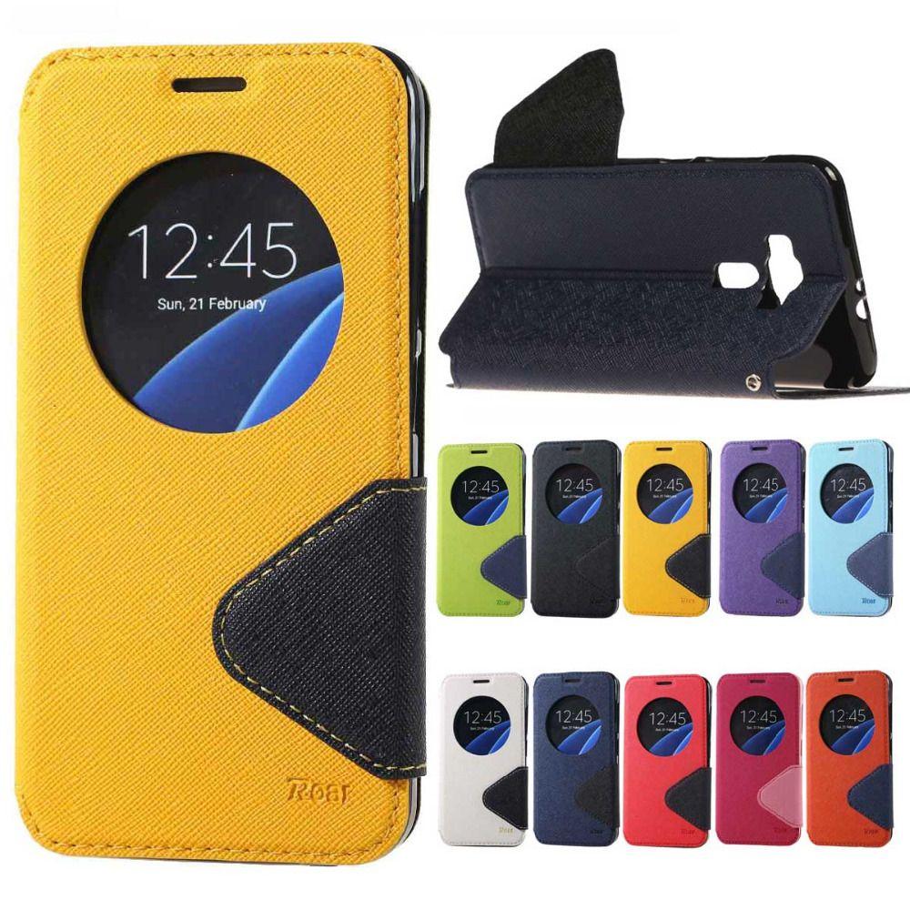Roar wallet flip Leather Cover case For Asus Zenfone 3 ZE552KL laser ZE500KL ZE550KL Selfie ZD551KL Max ZC550KL ZE520KL cases