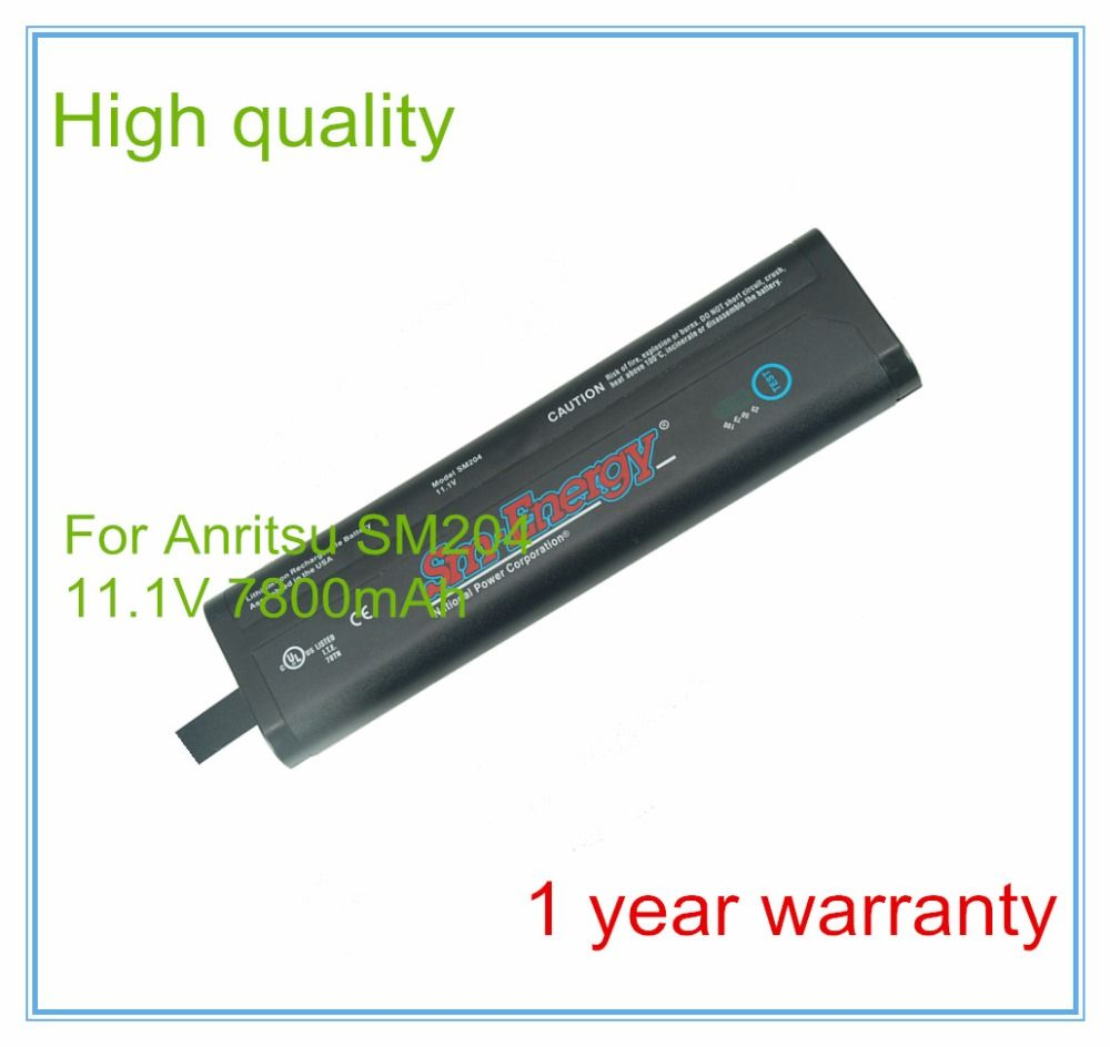 Replacement For Handheld Spectrum Analyzers SM204 633-75 633-44 MS2721A MS2721B MS2723B MS2724B Spectrum Maste Battery