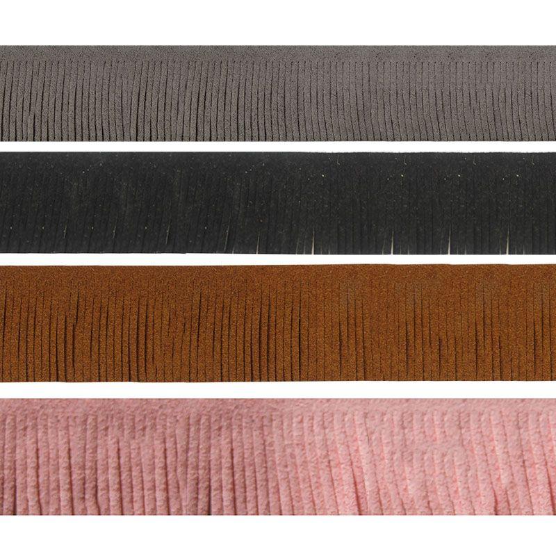 1 m Material de La Borla de La Joyería de Moda 30mm de Gamuza Cordón De Cuero Plano Para DIY Collar Pulseras de Gancho Para la Oreja Colgante Mano-Toma de hecho