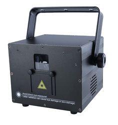 3 W Mini RVB pleine couleur laser Auto Sound DMX ILDA 256 modèles