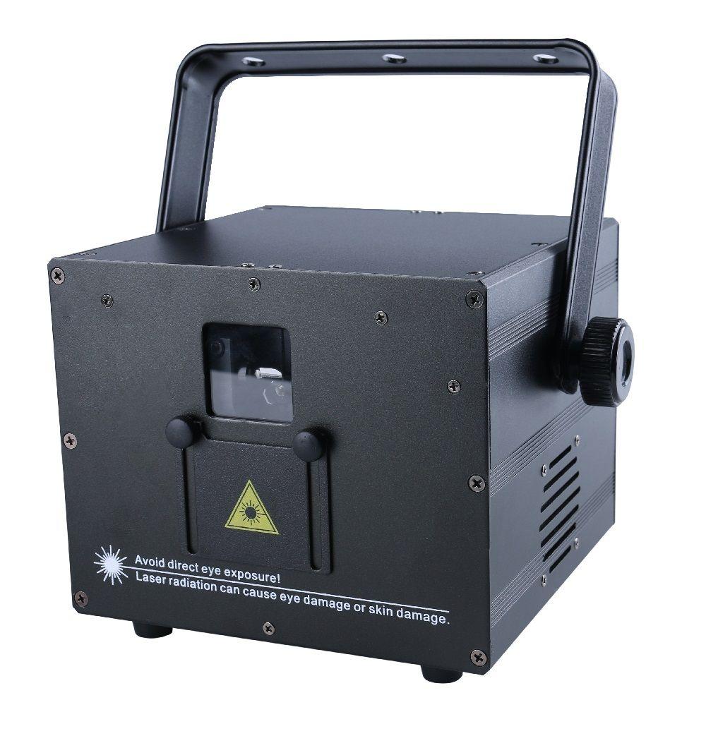 3W Mini RGB full color laser light Auto Sound DMX ILDA 256 patterns SD card
