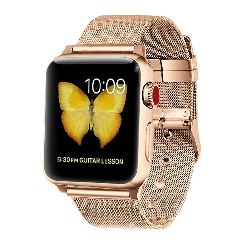 Milanese strap for Apple watch band 4 44mm 40mm iwatch band 38mm 42mm stainless steel mesh bracelet watchband Apple watch 4 3 21