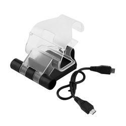 Sel Ponsel Smart Klip Clamp Holder untuk PlayStation 4 untuk PS4 Game Controller Stand Holder dengan Kabel