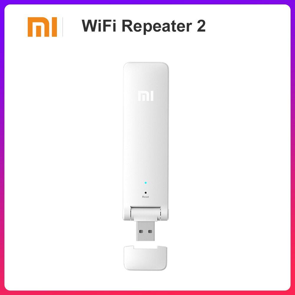 Mi Xiao mi WIFI Répéteur 2 Sans Fil Amplificateur Extender 2 Universel Repitidor Wi-Fi Extender 300 Mbps Réseau Routeur Extender