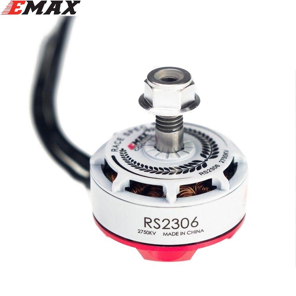 Original EMAX RS2306 2400KV /2750KV White Editions RaceSpec Brushess Motor For FPV Rc Quadcopter