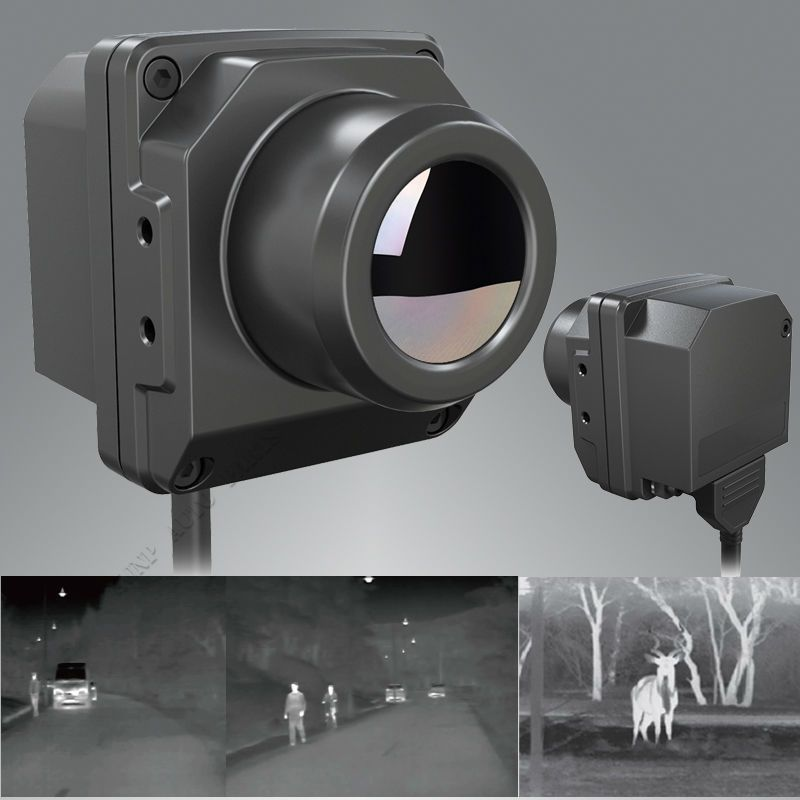 IP67 Infrared Thermal Imager Car off road Vehicle Night Vision Driving Scout Hunting Search Infrared Thermal Imaging Camera