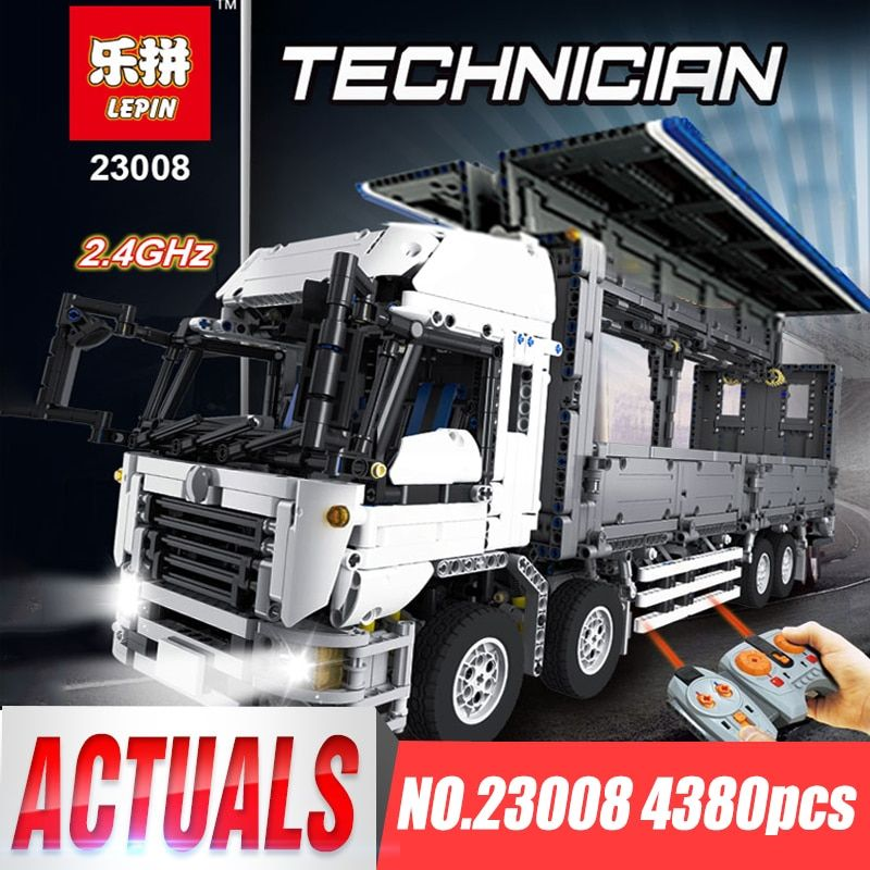 Lepin 23008 Technical Series The MOC Wing Body Truck Set legoing 1389 Educational Toys Building Block Bricks to Children Gift