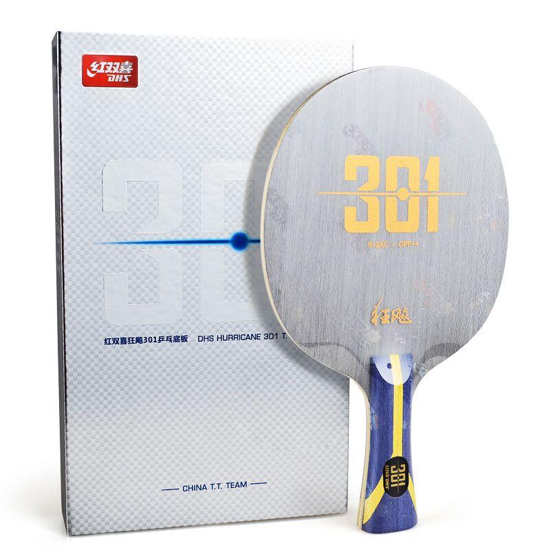 DHS tischtennis schläger hurrikan h301 301 arylate carbon ALC China TT Team für klinge ping pong bat paddel