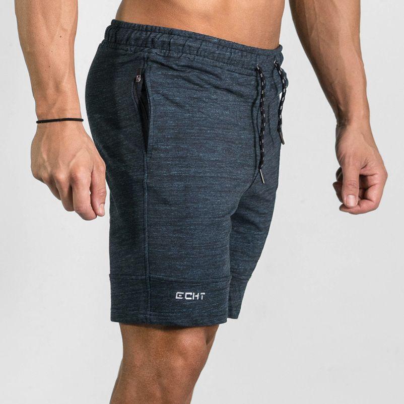 EEHCM haute qualité coton hommes Shorts été 2017 mode de plage la poche Zipper garniture pantalons courts vente chaude