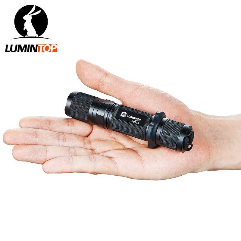 LUMINTOP Taktische Taschenlampe Cree XM-L2 U2 Max Ausgang von 750 Lumen 5 Modi Unterstützung Momentary-auf und Strobe durch einem Klick
