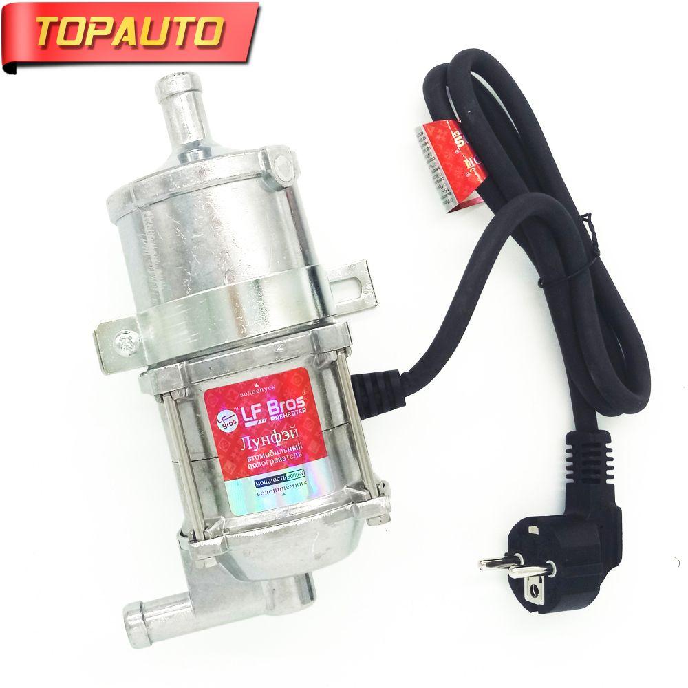 TopAuto 220V-240V 3000W Auto Engine Heater Car Preheater Coolant Heating Truck Motor Can SUV Air Parking Heater European Version