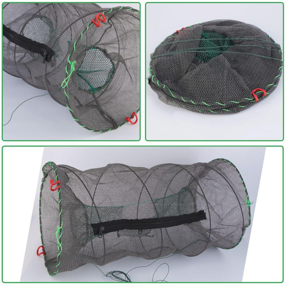 30 x 60cm Fishing Traps Top Quality Crab Crayfish Lobster Catcher Pot Trap Fish Net Eel Prawn Shrimp Live Bait