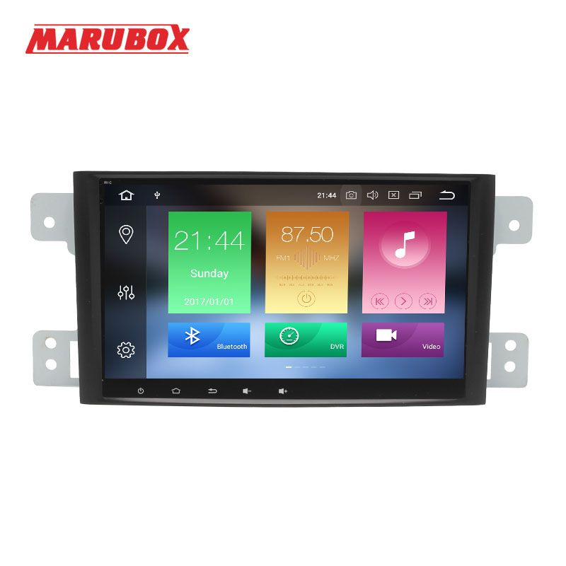 MARUBOX 1 Din Android 8.0 4GB RAM For Suzuki Grand Vitara Escudo 2005-2012 GPS Navi Stereo Radio Car Multimedia Player 8A905PX5