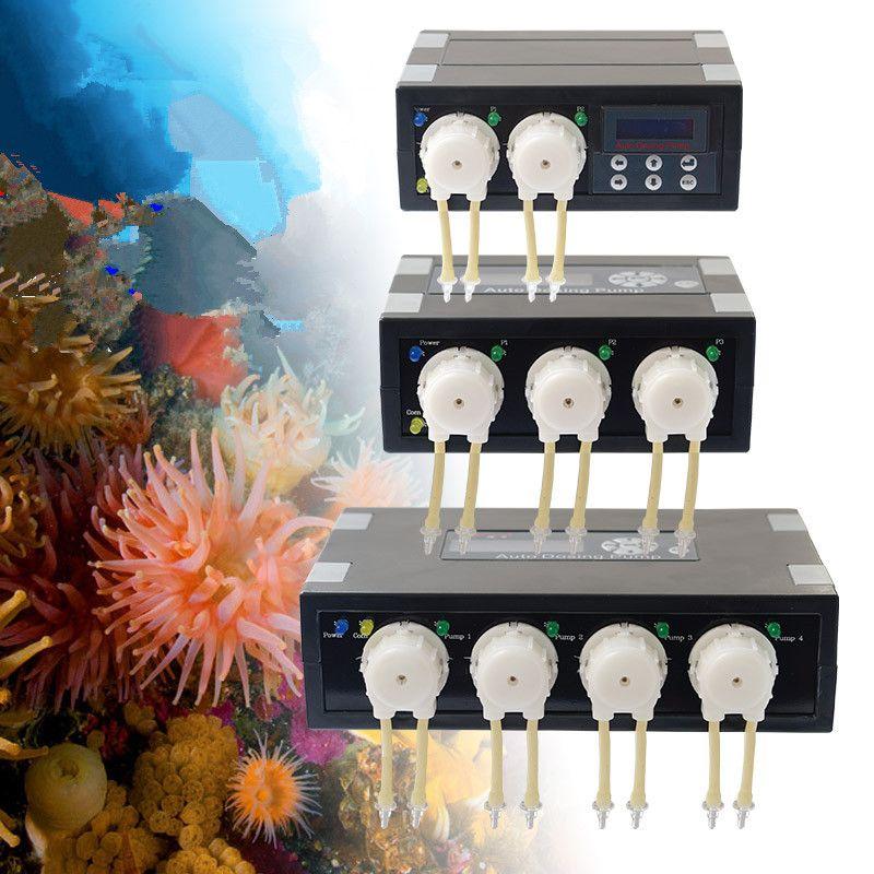 JEBAO JECOD DP2 DP3 DP4 DP-2 DP-3 DP-4 DP3S DP4S DP-3S DP-4S Auto Dosing Pump -Automatic Doser for Marine Reef Aquarium