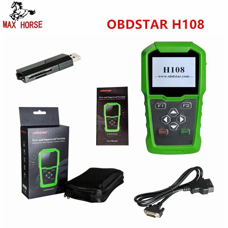 OBDSTAR H108 PSA Programmierer Support Alle Schlüssel Verloren Programmierer/Pin-Code Lesen/Cluster Kalibrieren für Peugeot/Citroen /DS Können & K-linie