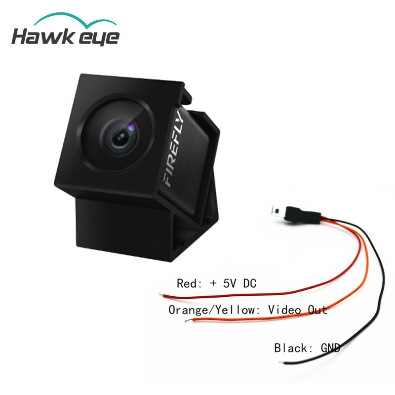 Hawkeye Firefly 160 Degree HD 1080P DVR Built-in Mic FPV Micro Action Camera Mini Cam W/ Cable For RC Drone Part Accs